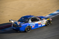 #50 BERG Racing Mazda MX-5: Dinah Weisberg