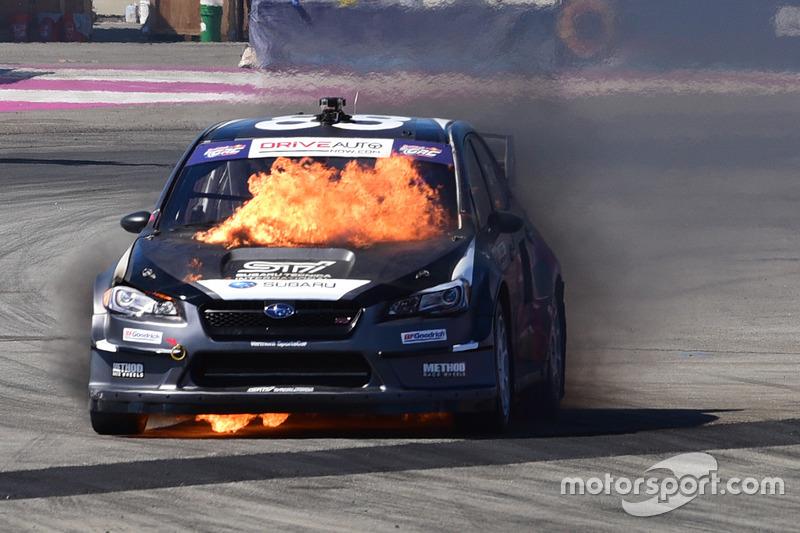 8. Toshihiro Arai, Subaru en llamas