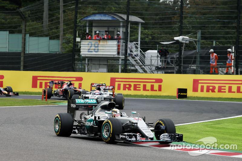 3. Lewis Hamilton, Mercedes AMG F1 W07 Hybrid