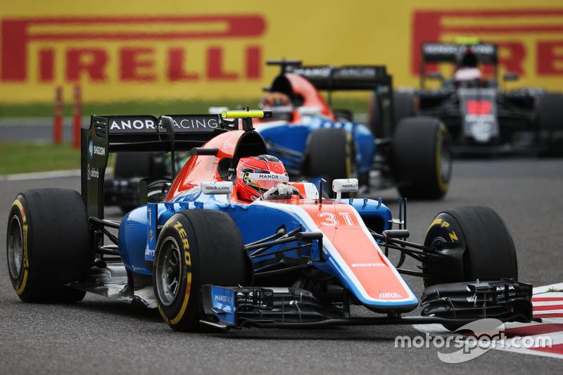 21. Esteban Ocon, Manor Racing MRT05