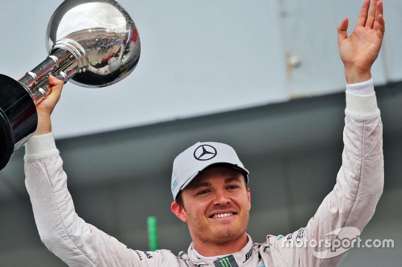 Nico Rosberg, Mercedes, 3º