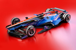 Manor Racing 2030 fantasy design