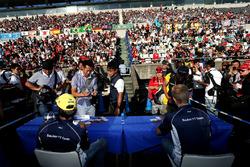 Felipe Nasr, Marcus Ericsson, Sauber