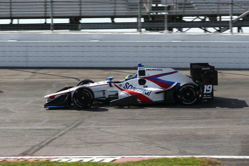 Себастьян Бурде, №18, Dale Coyne Racing Honda