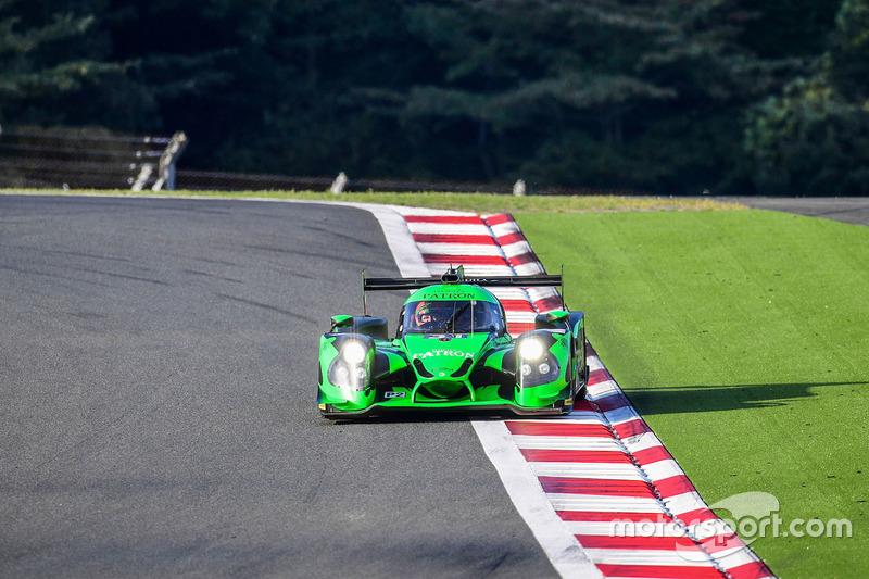 8. LMP2: #31 Ligier JS P2 - Nissan: Ryan Dalziel, Pipo Derani, Christopher Cumming