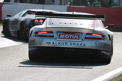 Aston Martin in despair