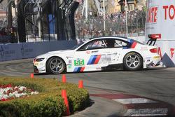 #55 BMW Motorsport BMW M3 GT: Bill Auberlen, Dirk Werner after a spin