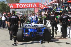 Team Penske pit area