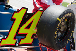 Pit area for Tony Stewart, Stewart-Haas Racing Chevrolet