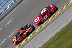 Jamie McMurray, Earnhardt Ganassi Racing Chevrolet, Juan Pablo Montoya, Earnhardt Ganassi Racing Che