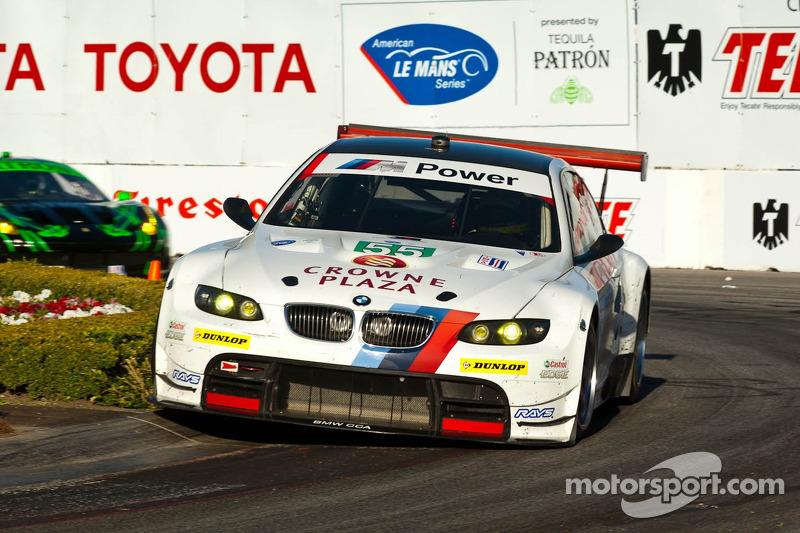 #55 BMW Team RLL BMW E92 M3: Bill Auberlen, Dirk Werner