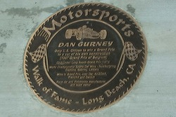 Walk of Fame - Long Beach, plaque for Dan Gurney