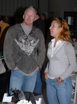 Paul Tracy and Diana Junqueira