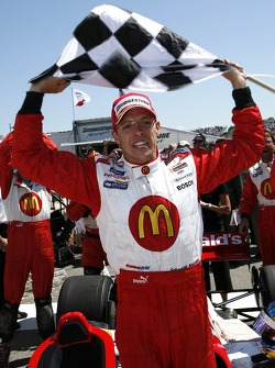 Sébastien Bourdais celebrates