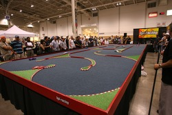 Grand Prix of Toronto Auto Expo: fans play radio controlled cars