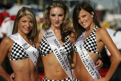 The lovely Miss Grand Prix of Toronto winners