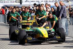 Will Powerís car back from scrutineering;
