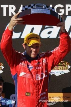 Podium: race winner Jason Bright
