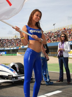 A Bavaria Champ Car Grand Prix of Assen girl