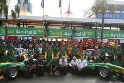 Team Australia photo shoot