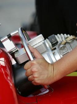 Refuel at Newman/Haas/Lanigan Racing