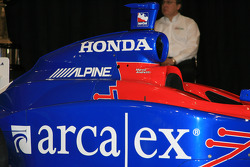 The No. 26 ArcaEx Dallara Honda Firestone that Marco Andretti will drive in the 2006 Indianapolis 500 and IndyCar Series