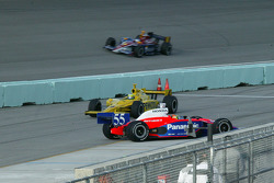 Kosuke Matsuura spins on pit road