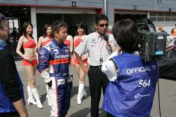 Interviews for Kosuke Matsuura and Aguri Suzuki