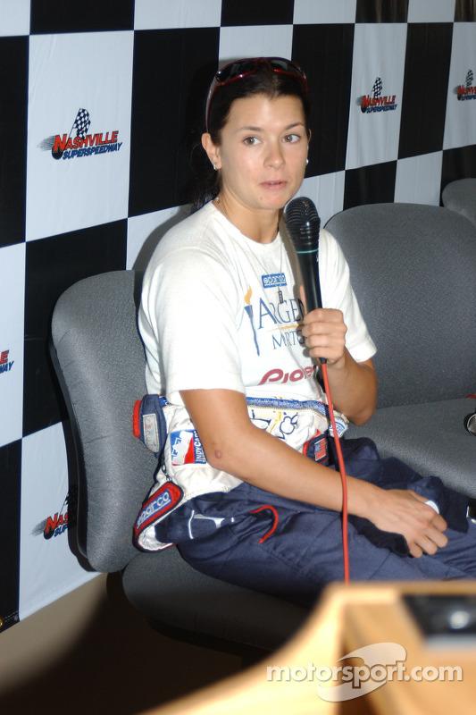 Second fastest qualifier Danica Patrick