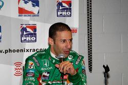 Post-race press conference: third-place Tony Kanaan
