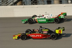 Scott Sharp and Tony Kanaan