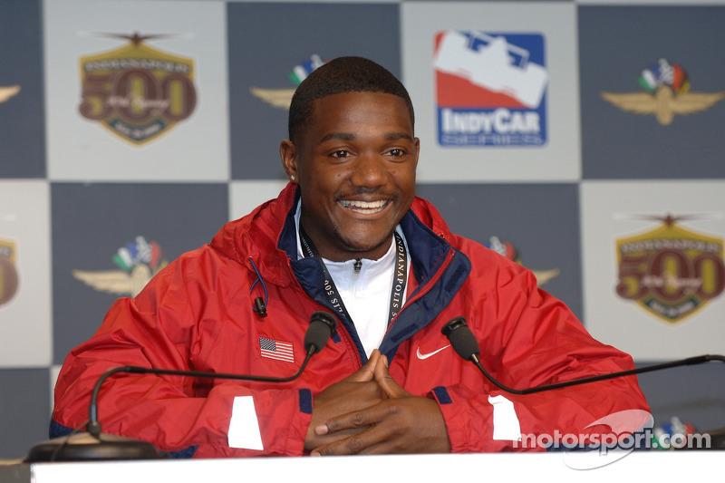 Le détenteur du record du monde du 100m Justin Gatlin