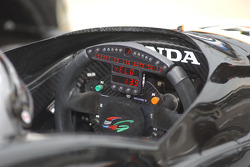 Steering wheel of Michael Andretti