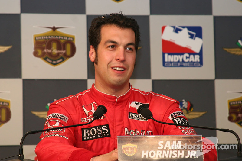 Sam Hornish Jr., le plus rapide de la journée