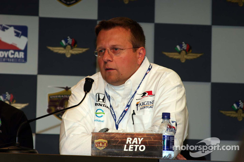 Ray Leto de l'équipe Rahal Letterman Racing
