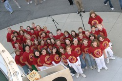 The Wayne County Honor Choir from Wayne County, West Virginia