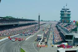 Indy 500 grid