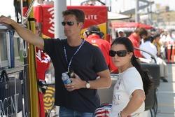 Danica Patrick with husband Paul Hospenthal