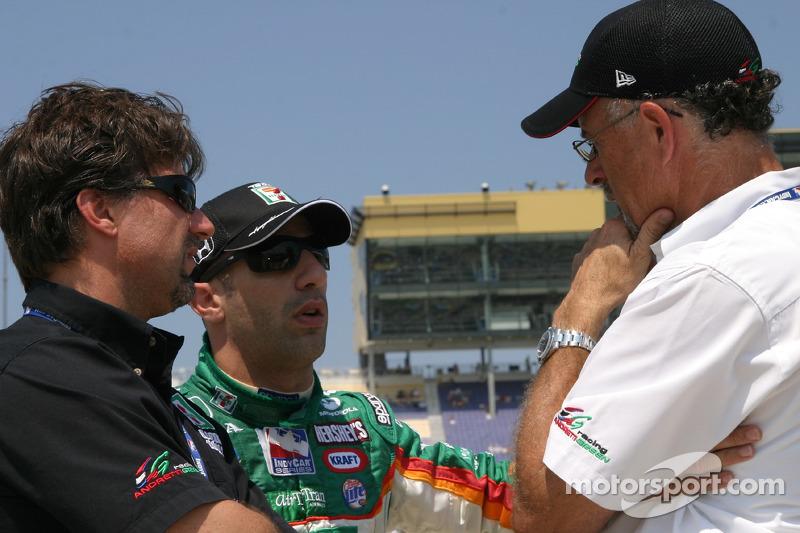 Michael Andretti, Tony Kanaan et Kim Green