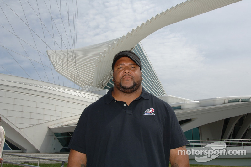 Gilbert Brown de Milwaukee Mile