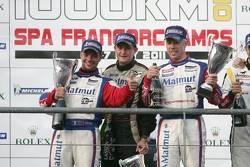 LMGTE am podium: class winners Raymond Narac and Nicolas Armindo