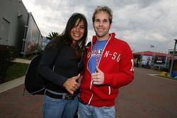 Milka Duno and Jeff Mitrisin