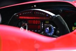 Instrument panel of the Super Aguri Panther Racing Dallara