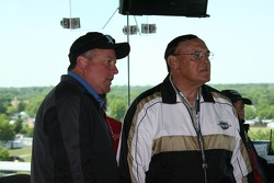 IndyCar Series President Brian Barnhart and retired Purdue University Head Coach, Gene Keady