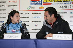 Danica Patrick and Helio Castroneves