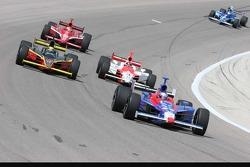 Marco Andretti, Vitor Meira, Helio Castroneves and Dan Wheldon