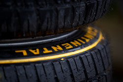 Continental rain tires ready for the weekend