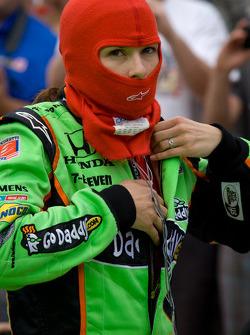 Danica Patrick, Andretti Autosport lista para correr en la calificación