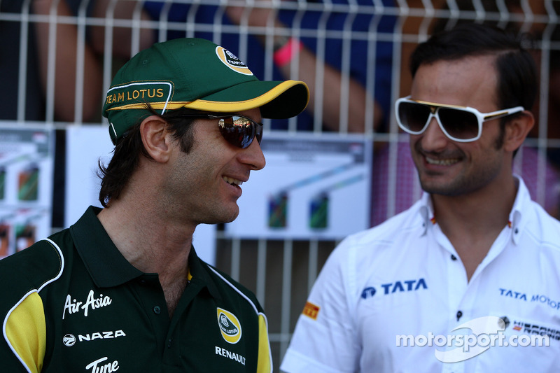 Ярно Труллі, Team Lotus, Вітантоніо Ліуцці, Hispania Racing Team, HRT