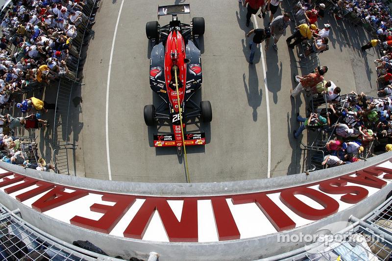 Car of Marco Andretti, Andretti Autosport